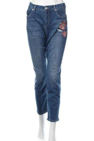 Γυναικείο Τζίν Mac, Μέγεθος L, Χρώμα Μπλέ, 98% βαμβάκι, 2% ελαστάνη, Τιμή 21,90€