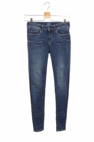 Dámske džínsy  Pepe Jeans, Veľkosť S, Farba Modrá, 90% bavlna, 8% polyester, 2% elastan, Cena  76,80€