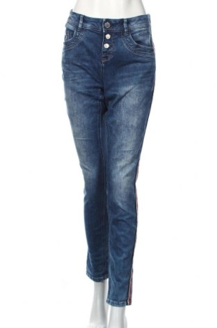 Γυναικείο Τζίν Street One, Μέγεθος XL, Χρώμα Μπλέ, 79% βαμβάκι, 19% πολυεστέρας, 2% ελαστάνη, Τιμή 11,69€