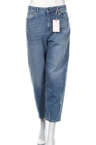 Blugi de femei Ted Baker, Mărime XL, Culoare Albastru, 99% bumbac, 1% elastan, Preț 254,87 Lei