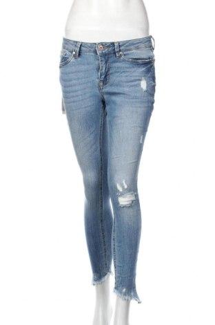 Dámske džínsy  Tom Tailor, Veľkosť M, Farba Modrá, 96% bavlna, 3% polyester, 1% elastan, Cena  29,32€