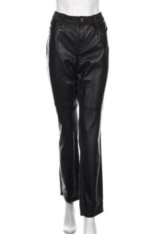 Dámske džínsy  Triangle By s.Oliver, Veľkosť XXL, Farba Čierna, Eko koža , bavlna, polyester, elastan, Cena  38,21€