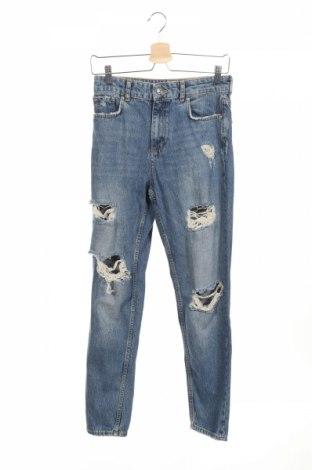 Γυναικείο Τζίν Zara, Μέγεθος S, Χρώμα Μπλέ, Βαμβάκι, Τιμή 35,07€
