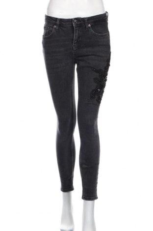 Dámske džínsy  Zara, Veľkosť M, Farba Sivá, 99% bavlna, 1% elastan, Cena  14,74€