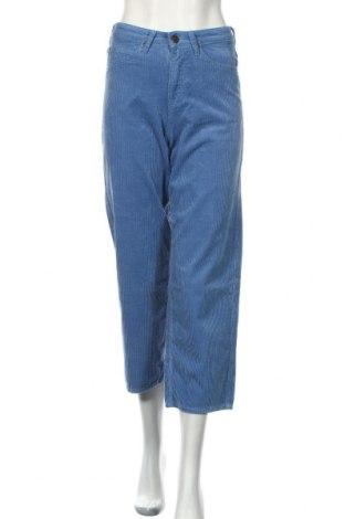 Dámské menčestráky Lee, Veľkosť XS, Farba Modrá, Bavlna, Cena  23,75€
