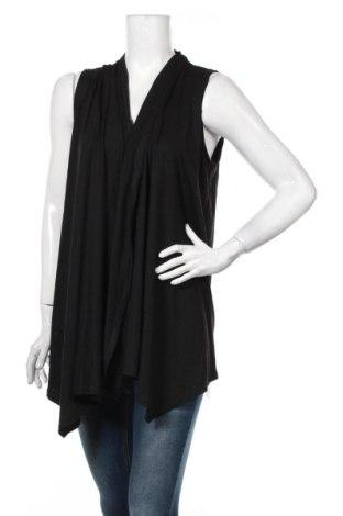 Dámska vesta , Veľkosť L, Farba Čierna, 65% polyester, 35% bavlna, Cena  14,47€