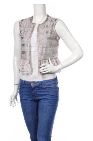 Γυναικείο γιλέκο Hem & Thread, Μέγεθος S, Χρώμα Γκρί, 60% βαμβάκι, 40% πολυεστέρας, Τιμή 23,45€