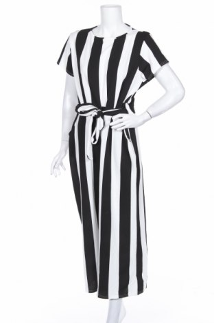 Dámský overal Boohoo, Rozměr XL, Barva Černá, 95% polyester, 5% elastan, Cena  678,00Kč