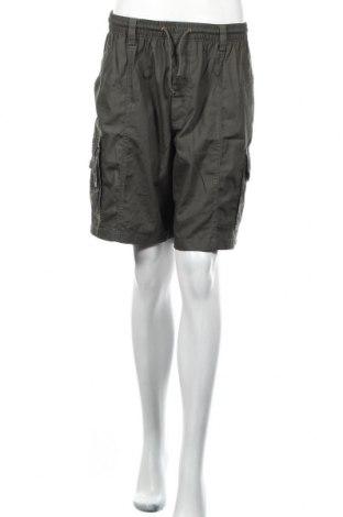 Pantaloni scurți de femei Le Tyna, Mărime L, Culoare Verde, 85% bumbac, 35% poliester, Preț 58,49 Lei