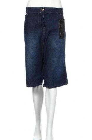 Pantaloni scurți de femei Millers, Mărime XXL, Culoare Albastru, 81% bumbac, 18% poliester, 1% elastan, Preț 103,99 Lei