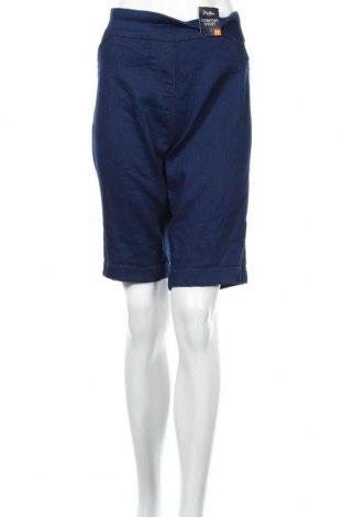 Pantaloni scurți de femei Millers, Mărime XXL, Culoare Albastru, 79% bumbac, 19% poliester, 2% elastan, Preț 116,98 Lei
