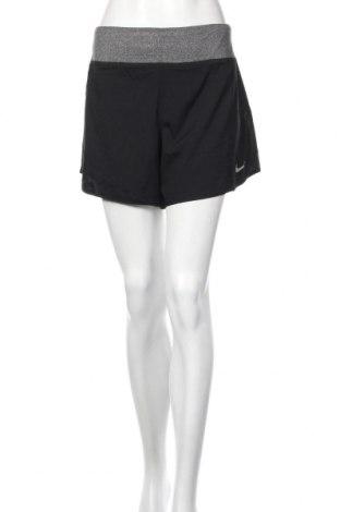 Pantaloni scurți de femei Nike, Mărime XL, Culoare Negru, Poliester, Preț 188,47 Lei