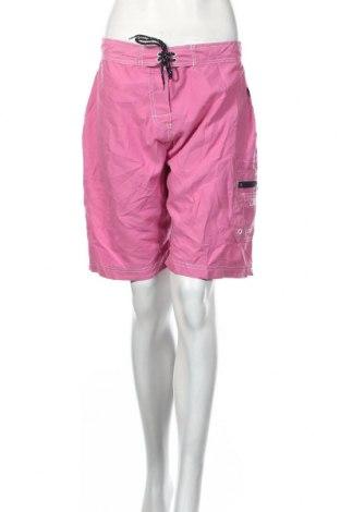 Pantaloni scurți de femei Reebok, Mărime L, Culoare Roz, Poliester, Preț 123,48 Lei