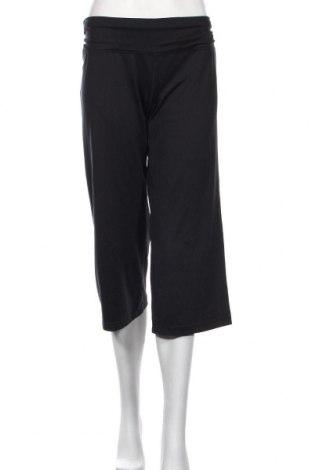 Pantaloni trening de femei Reebok, Mărime XL, Culoare Negru, 82% poliester, 18% elastan, Preț 159,22 Lei
