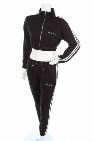 Dámsky komplet  Boohoo, Veľkosť S, Farba Čierna, 50% bavlna, 50% polyester, Cena  23,01€