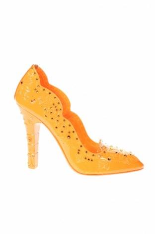 Дамски обувки Dolce & Gabbana, Размер 38, Цвят Оранжев, Полиуретан, Цена 421,85лв.