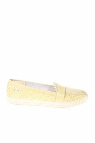 Dámske topánky  Geox, Veľkosť 38, Farba Žltá, Textil, Prírodný velur , Cena  33,45€