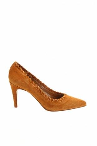 Dámske topánky  Heyraud, Veľkosť 36, Farba Hnedá, Prírodný velur , Cena  74,37€