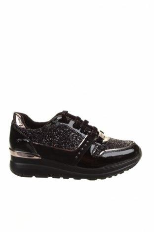 Dámske topánky  Laura Biagiotti, Veľkosť 37, Farba Čierna, Eko koža , textil, Cena  55,73€