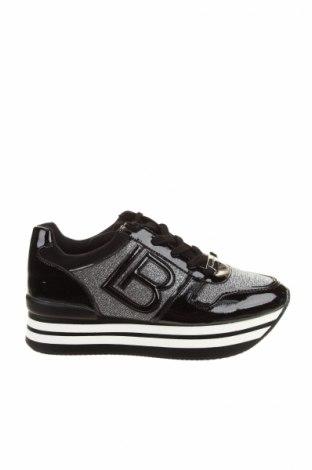 Dámske topánky  Laura Biagiotti, Veľkosť 38, Farba Čierna, Eko koža , textil, Cena  55,73€