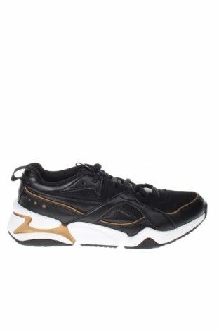 Dámske topánky  PUMA, Veľkosť 40, Farba Čierna, Eko koža , textil, Cena  97,42€