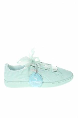 Dámske topánky  PUMA, Veľkosť 39, Farba Modrá, Prírodný velur , Cena  97,42€