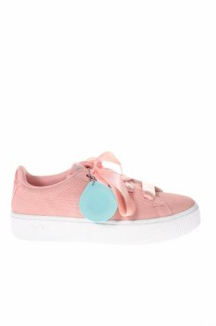 Dámske topánky  PUMA, Veľkosť 38, Farba Ružová, Prírodný velur , Cena  97,42€