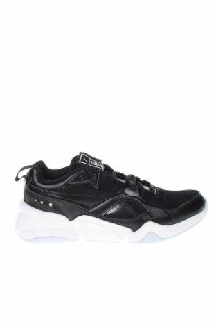 Dámske topánky  PUMA, Veľkosť 38, Farba Čierna, Eko koža , textil, Cena  97,42€