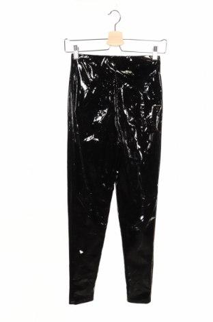 Дамски панталон Boohoo, Размер XS, Цвят Черен, 90% полиестер, 10% еластан, Цена 38,88лв.