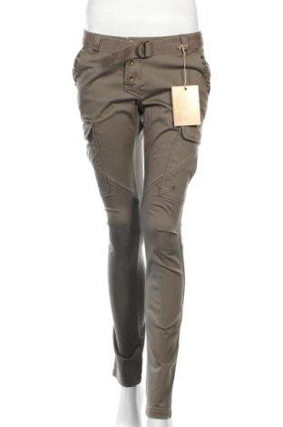 Dámske nohavice Brandit, Veľkosť M, Farba Zelená, 98% bavlna, 2% elastan, Cena  21,90€