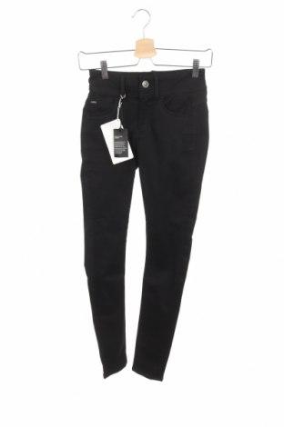 Dámske nohavice G-Star Raw, Veľkosť XS, Farba Čierna, 60% bavlna, 18% polyester, 11% elastan, 7% viskóza, 4% elastan, Cena  71,12€