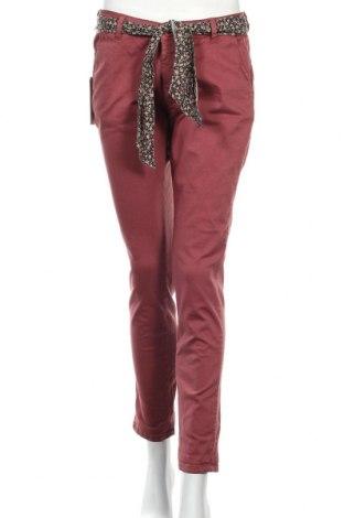 Dámske nohavice Le Temps Des Cerises, Veľkosť M, Farba Červená, 98% bavlna, 2% elastan, Cena  33,03€