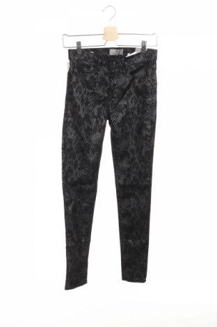 Дамски панталон Ltb, Размер XS, Цвят Сив, 62% памук, 29% полиестер, 5% акрил, 4% еластан, Цена 41,40лв.