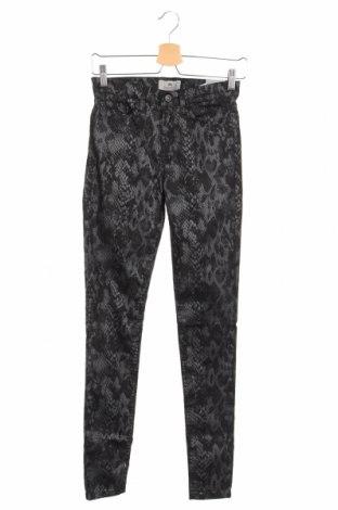 Дамски панталон Ltb, Размер XS, Цвят Черен, 62% памук, 29% полиестер, 5% акрил, 4% еластан, Цена 48,95лв.