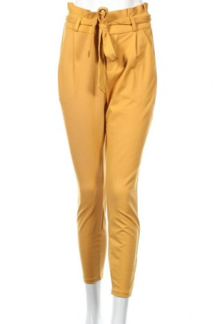 Dámské kalhoty  Vero Moda, Rozměr M, Barva Žlutá, 65% viskóza, 30% polyamide, 5% elastan, Cena  572,00Kč