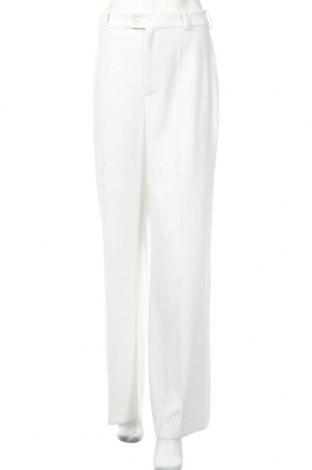 Dámske nohavice Zara, Veľkosť M, Farba Biela, Polyester, Cena  19,63€