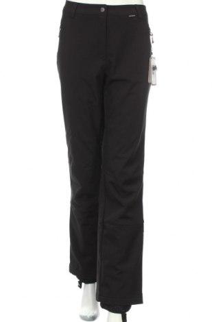 Дамски панталон за зимни спортове Icepeak, Размер L, Цвят Черен, Полиестер, Цена 93,00лв.