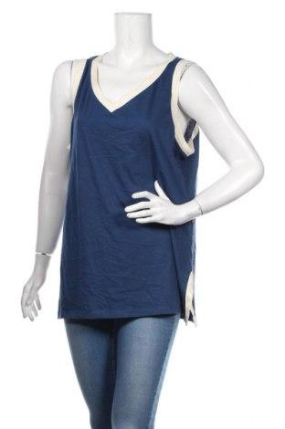 Dámske tielko  Talbots, Veľkosť XL, Farba Modrá, Bavlna, Cena  15,09€