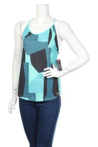 Γυναικείο αμάνικο μπλουζάκι Under Armour, Μέγεθος M, Χρώμα Πολύχρωμο, 91% πολυεστέρας, 9% ελαστάνη, Τιμή 21,90€