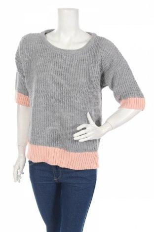 Дамски пуловер Atmosphere, Размер M, Цвят Сив, 100% акрил, Цена 33,60лв.