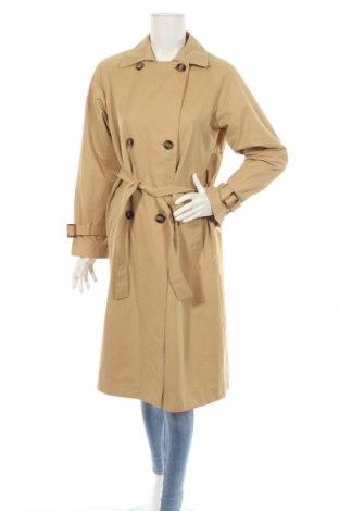 Γυναικεία καμπαρντίνα Zara, Μέγεθος XS, Χρώμα  Μπέζ, Πολυεστέρας, Τιμή 35,57€