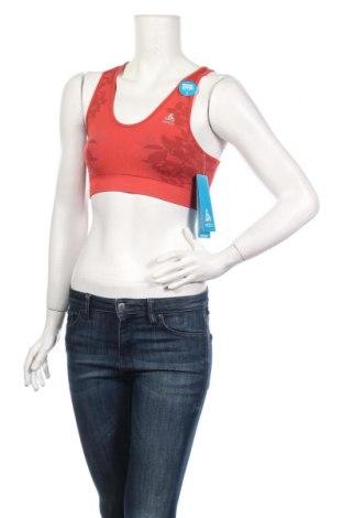 Γυναίκειο αθλητικό τοπ Odlo, Μέγεθος S, Χρώμα Κόκκινο, 77% πολυεστέρας, 16% πολυαμίδη, 7% ελαστάνη, Τιμή 17,07€