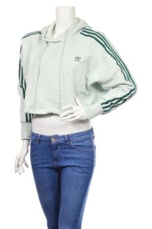Dámská mikina  Adidas, Rozměr S, Barva Zelená, Bavlna, Cena  1033,00Kč