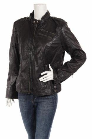 Γυναικείο δερμάτινο μπουφάν Magnifica, Μέγεθος XL, Χρώμα Μαύρο, Γνήσιο δέρμα, Τιμή 174,74€
