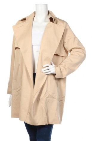 Palton de femei Compania Fantastica, Mărime L, Culoare Bej, Poliester, Preț 144,00 Lei