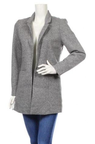Palton de femei Noisy May, Mărime M, Culoare Gri, 84% poliester, 16% bumbac, Preț 128,84 Lei