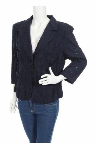 Γυναικείο σακάκι Bonita, Μέγεθος XL, Χρώμα Μπλέ, 80% πολυεστέρας, 20% βαμβάκι, Τιμή 46,89€