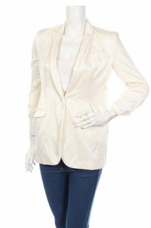 Дамско сако Elizabeth And James, Размер XS, Цвят Екрю, 60% памук, 26% полиамид, 4% метални нишки, Цена 106,00лв.