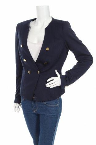Γυναικείο σακάκι H&M, Μέγεθος L, Χρώμα Μπλέ, 75% πολυεστέρας, 22% βισκόζη, 3% ελαστάνη, Τιμή 19,12€