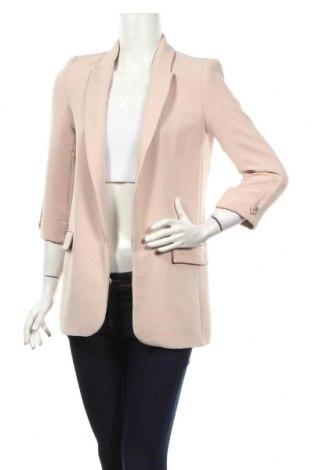 Dámské sako  Zara, Rozměr XS, Barva Růžová, 94% polyester, 6% elastan, Cena  957,00Kč